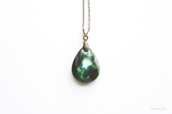 resin jewelry, www.Fenne.be